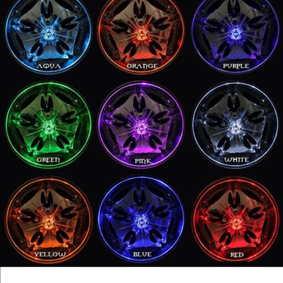 GLORDER Wheel Light Cars rucks all Colors availabl